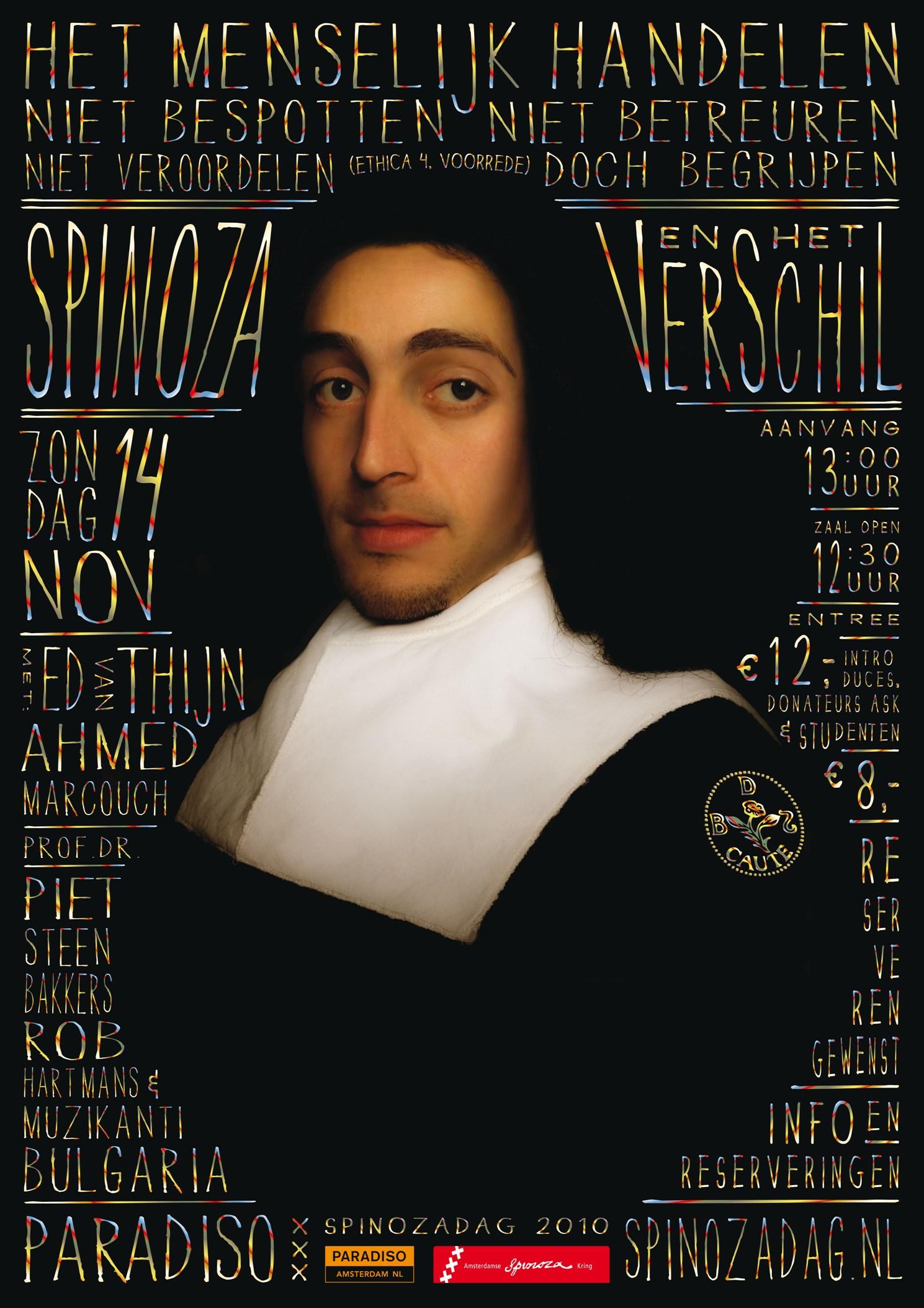 Citaten Spinoza Kring : Spinozadag spinoza en het verschil de informatie